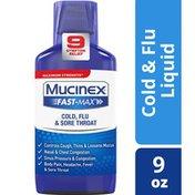Mucinex® Fast-Max Maximum Strength Cold, Flu, & Sore Throat Liquid