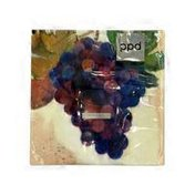 Paperproducts Design Wine Country Red Beverage Napkin