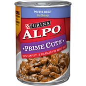 Purina Gravy Wet Dog Food, Prime Cuts With Beef