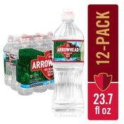 Arrowhead Mountain Spring Water Sport Bottle with Flip Cap