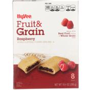 Hy-Vee Cereal Bars, Fruit & Grain, Raspberry