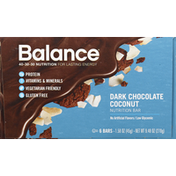Balance Bar Nutrition Bar, Dark Chocolate Coconut