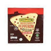 Fresh Thyme Chicken Pepperoni Pizza