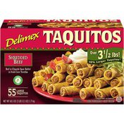 Delimex Shredded Beef Large Taquitos