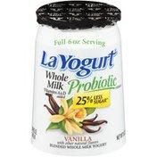 La Yogurt Vanilla Blended Whole Milk Yogurt
