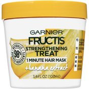Garnier Fructis Strengthening Treat 1 Minute + Banana Extract Garnier Fructis Strengthening Treat + Banana Extract 1 Minute Hair Mask