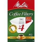 Melitta Coffee Filters, Super Premium, No. 4