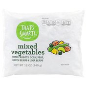 That's Smart! Mixed Vegetables With Carrots, Corn, Peas, Green Beans & Lima Beans