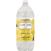 Cascade Ice Sparkling Water, Lemon Zest