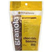 Milk And Honey Granola, Chocolate Banana Mix
