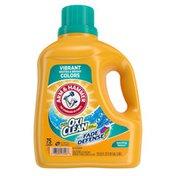 Arm & Hammer Plus Oxiclean Fade Defense, 75 Loads Liquid Laundry Detergent ,