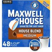 Maxwell House House Blend Medium Roast K-Cup Coffee Pods