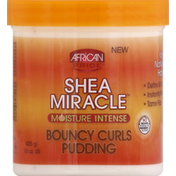 African Pride Bouncy Curls Pudding, Moisture Intense