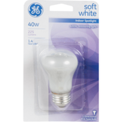 General Electric Soft White Bulb 40w Indoor Spotlight