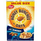 Honey Bunches Of Oats Crispy with Almonds Cereal