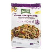Kashi Steam Meal Chicken and Chipotle BBQ