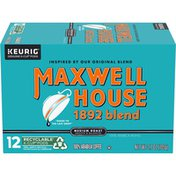 Maxwell House 1892 Blend Smooth & Balanced Medium Roast K-Cup® Coffee Pods