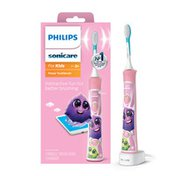 Philips Sonicare for Kids Pink Electric Rechargeable Toothbrush - HX6351/41