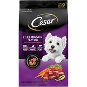 CESAR Filet Mignon Flavor and Spring Vegetables Garnish Dog Food