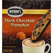 Nonni's Biscotti, Dark Chocolate Pumpkin