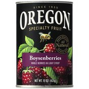 Oregon Fruit Products in Light Syrup Boysenberries