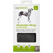 So hresh Large Washable Wraps for Male Dogs