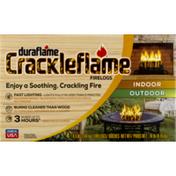 Duraflame Crackleflame® 4.5lb 3-hr Indoor / Outdoor Firelogs - 4pk