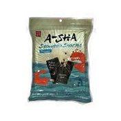 A Sha Original Seaweed Snacks