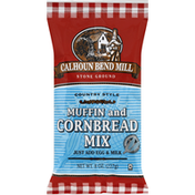 Calhoun Bend Mill Muffin and Cornbread Mix, Country Style