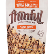 Thinful Snack Mix, Guiltless, Peanut Butter