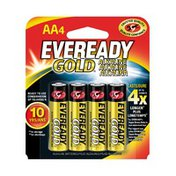 Eveready Alkaline AA Batteries, Double A Batteries