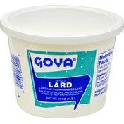 Goya Refined Lard