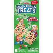 Kellogg's Rice Krispies Treats Crispy Marshmallow Squares, Sugar Cookie, 8 Pack