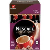Nescafé Sweet & Creamy Mocha--Cremeux et Sucre Moka Instant Coffee Mix--Melange a Cafe Instantane
