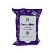 The 99 Lavender Cleansing Facial Wipes