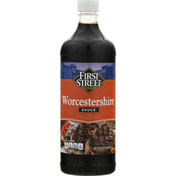 First Street Worcestershire Sauce