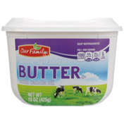 Our Family Salted Spreadable Butter With Canola Oil