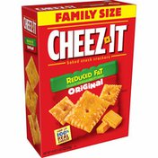 Cheez-It Cheese Crackers, Baked Snack Crackers, Reduce Fat Original