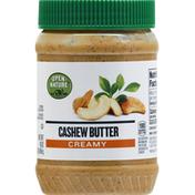 Open Nature Cashew Butter, Creamy