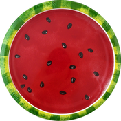 Party Creations Plates, Watermelon Slices, 8-3/4 Inch