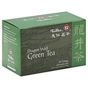 Ten Ren Green Tea, Dragon Well, Bags