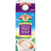 Land O Lakes Rich and Creamy Fat-Free Ultra-Pasteurized Half & Half