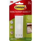 3M Command Picture Hanging Strips, Narrow