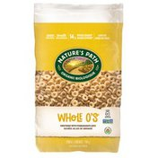 Nature's Path Whole O's Cereal, Family Size