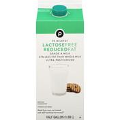 Publix Milk, Lactose Free, Reduced Fat, 2% Milkfat