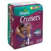 Pampers Diapers, Size 4 (22-37 lbs), Sesame Street, Jumbo