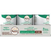 NUTRO Grain Free Adult Premium Loaf Lamb & Potato Recipe Dog Food