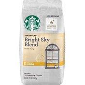 Starbucks Bright Sky Blend Blonde Roast Ground Coffee