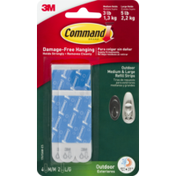 3M Command 3M  Damage-Free Hanging Outdoor Medium & Large Refill Strips