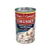 Chef's Cupboard Chunky Clam Chowder Soup